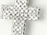 Diamond cross necklace 0.86ct