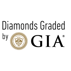 GIA Diamond E SI1 0.33 ct.