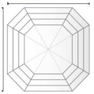 GIA Diamond F SI1 1.25 ct.