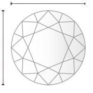 HRD Diamond - H VVS2 - 1.04 ct.
