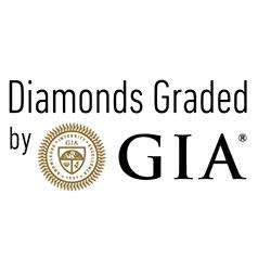 GIA Diamond - H IF - 0.37 ct.